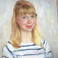 Heidi, öljy, 2013.