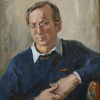 Isän muotokuva, öljy, 2003.